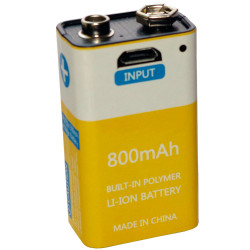 IMR14500 880 mah 12 A 3.7 V rechargeable battery 2x